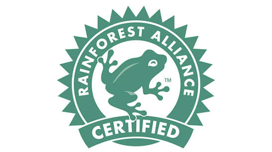 Logo Rainforest alliance
